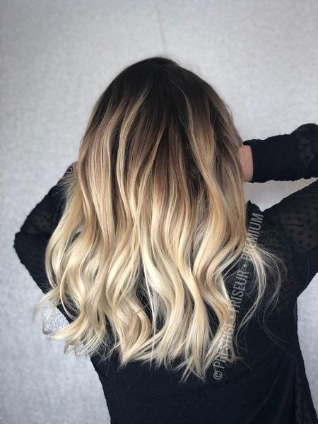 Verlauf braun blond Blond, Braun,