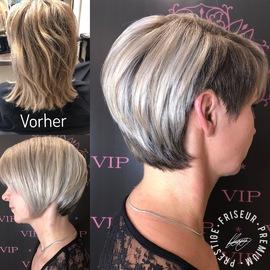 Silber Haare
